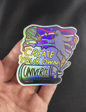 Load and play video in Gallery viewer, Create Your Own Universe - Holographic Sticker