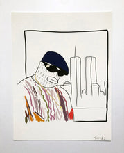 Load image into Gallery viewer, Biggie - 8.5 x 11 inch signed print