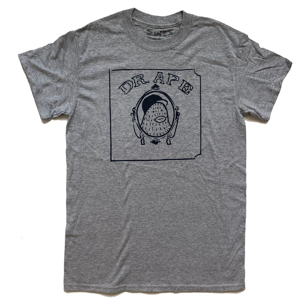 Dr. Ape - Grey T Shirt