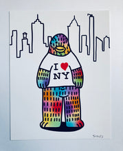 Load image into Gallery viewer, I <3 NY - 8.5 x 11 inch signed print