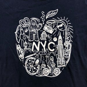 Big Apple - Navy T Shirt