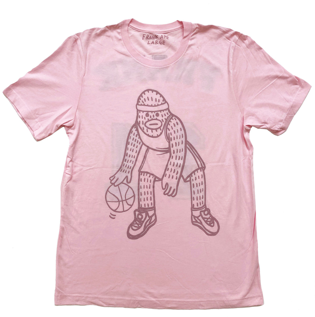 Frank Ape pink basketball shirt