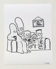 Load image into Gallery viewer, Simpsons - 8.5 x 11 inch signed print