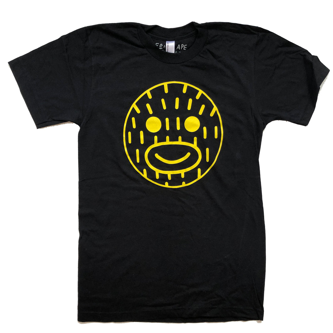 Smiley Frank - Black T Shirt