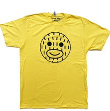 Load image into Gallery viewer, Smiley Frank - Yellow T Shirt