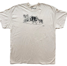 Load image into Gallery viewer, TV Party - Cream T Shirt