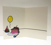 "Load image into Gallery viewer, ""Celebrate"" Greeting Card with Envelope"