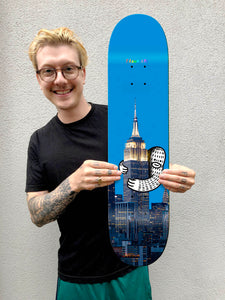 "Limited Edition Skate Board - ""Empire State Frank"" -  Pre Order"