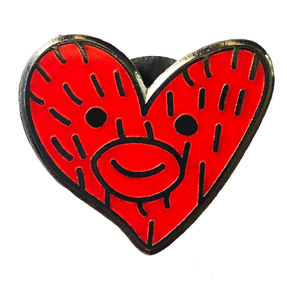 Soda Pop Red Heart - Limited Edition Enamel Pin