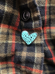 Fifth Avenue Blue Heart -Limited Edition Enamel Pin