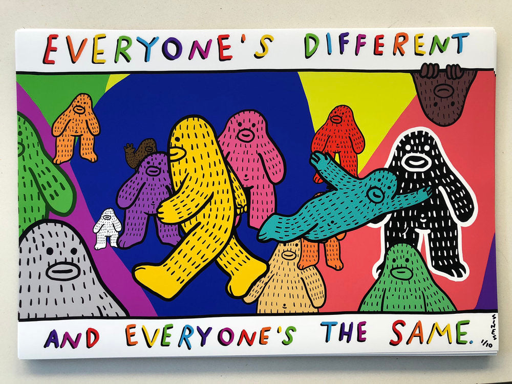 #6 - Everyone's Different, Everyone's the Same