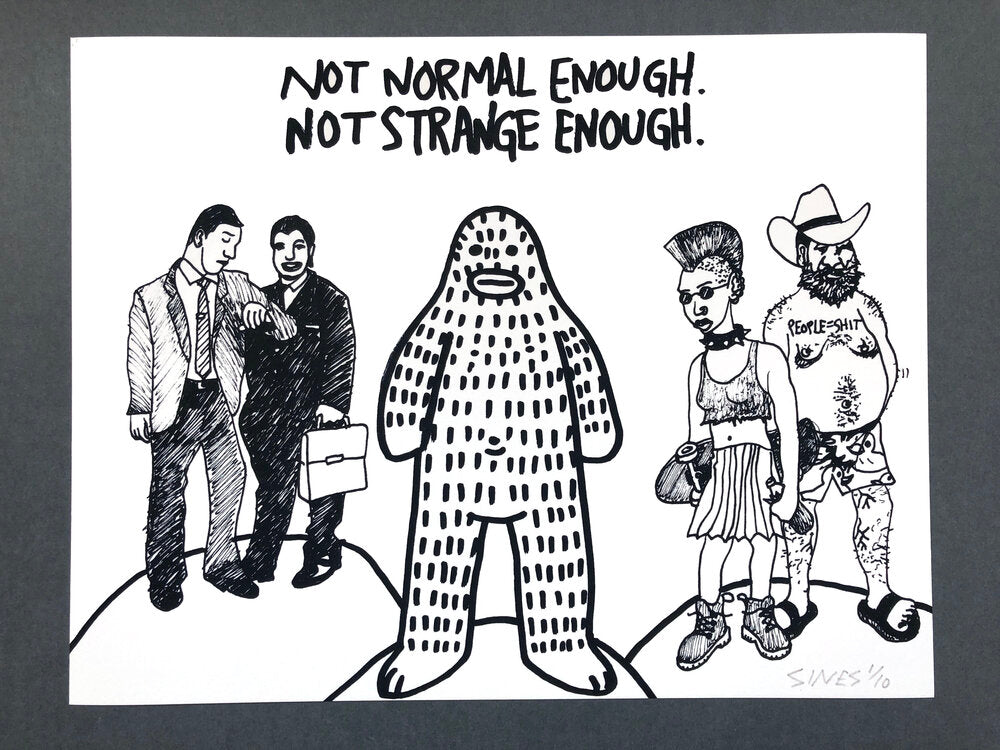 #44 - Not Normal Enough, Not Strange Enough