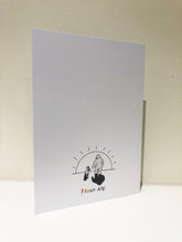 "Load image into Gallery viewer, ""Love"" Greeting Card with Envelope"