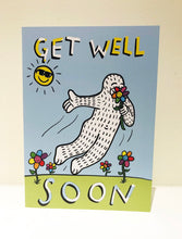 "Load image into Gallery viewer, ""Get Well"" Greeting Card with Envelope"