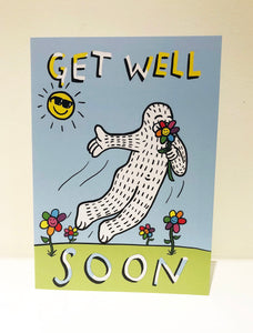 """Get Well"" Greeting Card with Envelope"