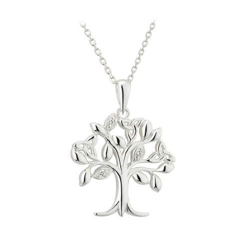 STERLING SILVER LIFE TREE PENDANT