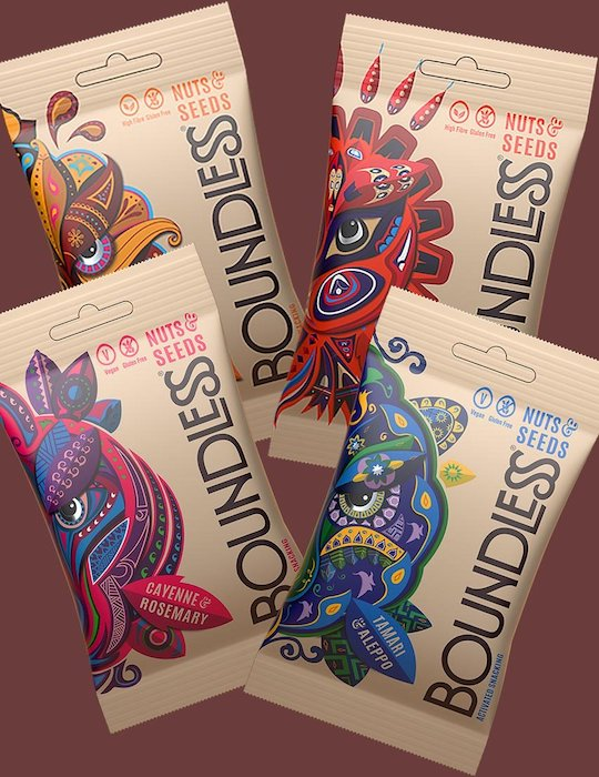 Boundless Activated Nuts & Seeds, Mixed Case