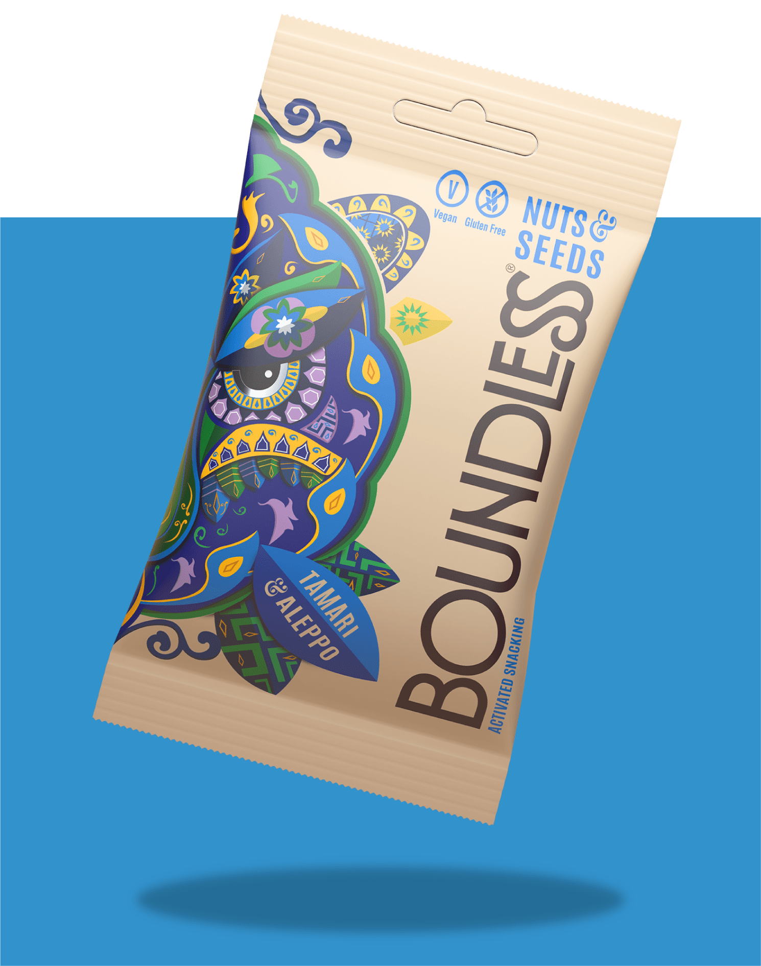 Boundless Activated Nuts & Seeds, Tamari & Aleppo