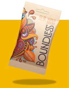 Boundless Activated Nuts & Seeds, Turmeric and Smoked Paprika