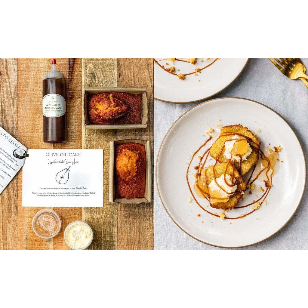 La Saison® Thanksgiving Olive Oil Cake Kit Delivered