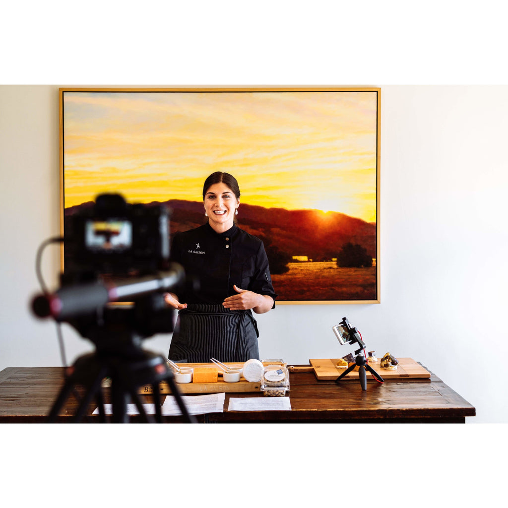 La Saison® Virtual Cheese Class on Zoom or Google Hangouts