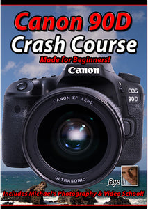 Canon 90D Crash Course Tutorial Training Video