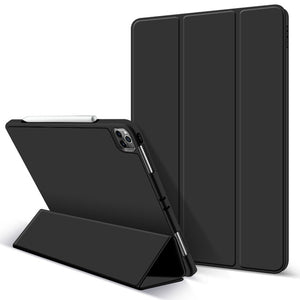 GOOJODOQ Case for iPad Pro 11 12.9 Pro 11 2020 Case 2018 Multi-Fold PU Leather Smart Cover Case for iPad Pro 11 2020 Funda Capa