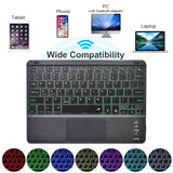 TouchPad Keyboard for iPad 10.2 2019 Keyboard Case for Apple iPad 9.7 2017 2018 Air 1 2 3 Pro 9.7 10.5 11 2018 2020 Keyboard