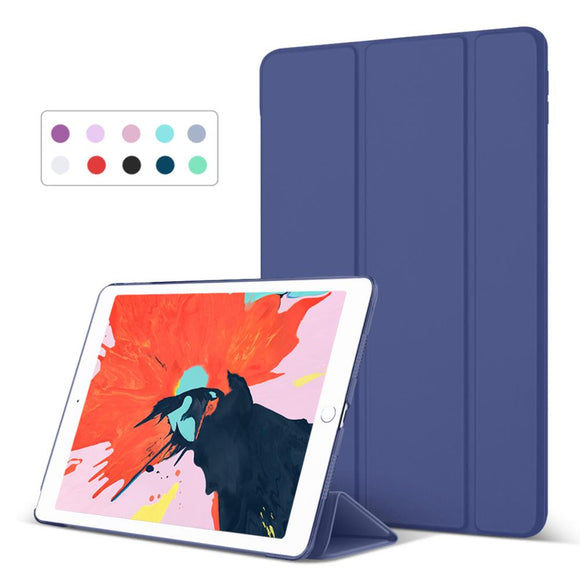 Case for New iPad 9.7 inch 2017 /2018 Model A1822 A1893 Ultra Slim PU Leather Smart Cover Flip Auto Wake Up Sleep