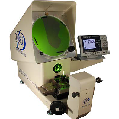 The 14HE bench top comparator is Dorsey Metrology's basic and most economical comparator with the same high quality features as the other comparators in our product line, but in a smaller package and a lower price. The addition of our extra long life LED surface illumination is another Dorsey innovation.