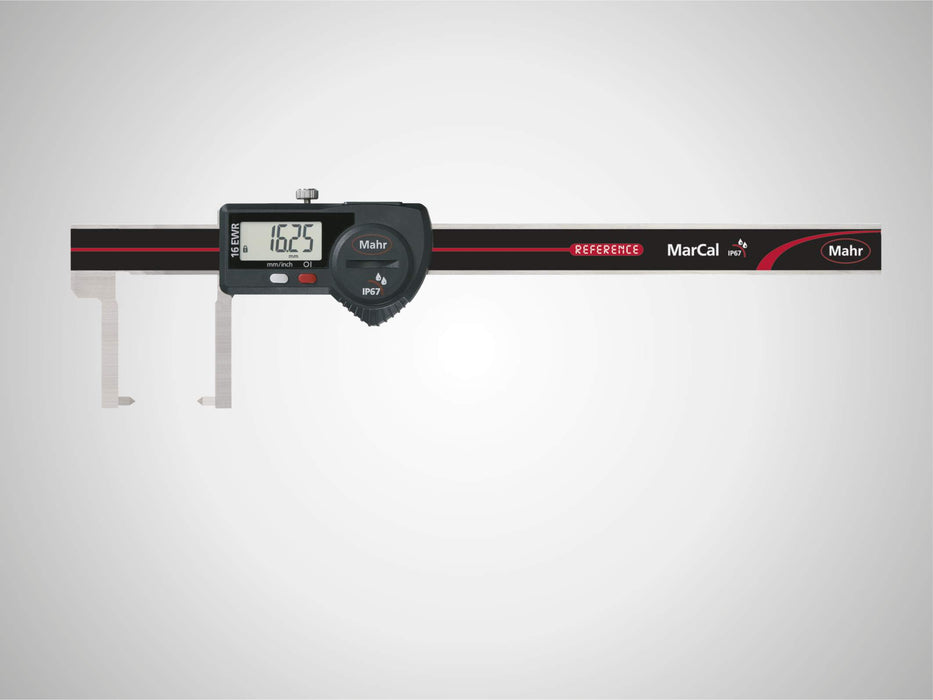 "Mahr - MarCal 16 EWR-SA Digital Caliper for Special Applications, 140mm/6"", IP 67, Data Interface"