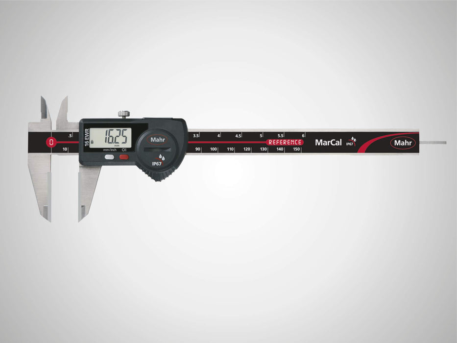 "Mahr - MarCal 16 EWR-H Digital Caliper for Special Applications, 150mm/6"", IP 67, Data Interface"