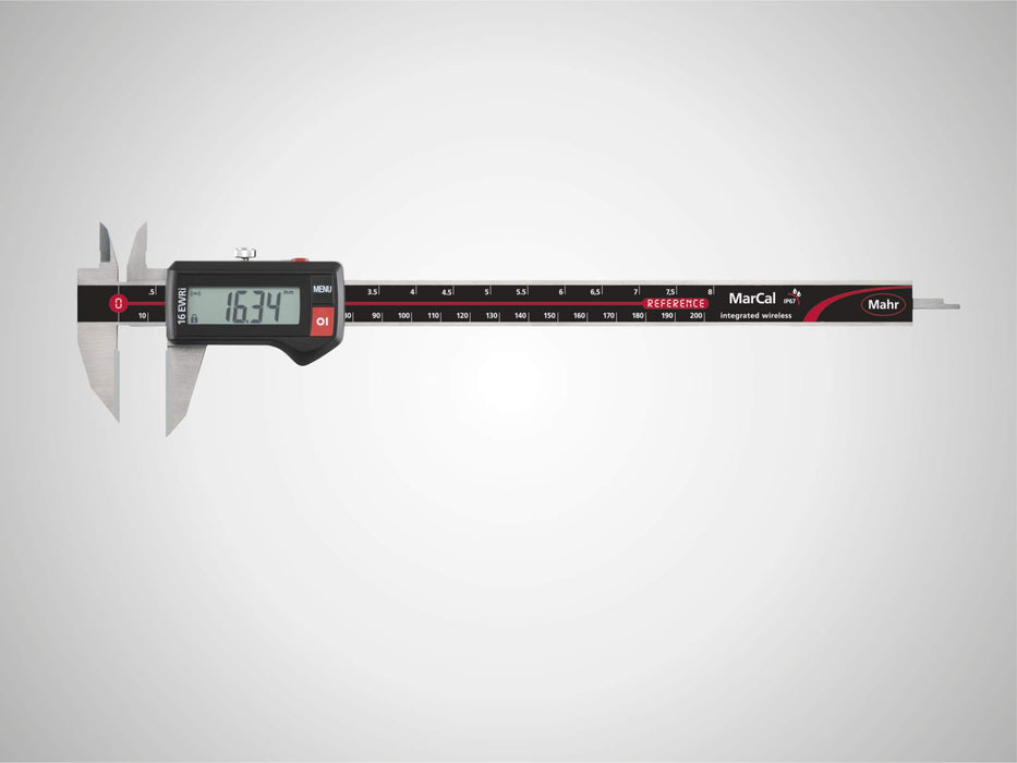 "Mahr - MarCal 16 EWR-AR Digital Caliper for Special Applications, 200mm/8"", IP67, Data Interface"