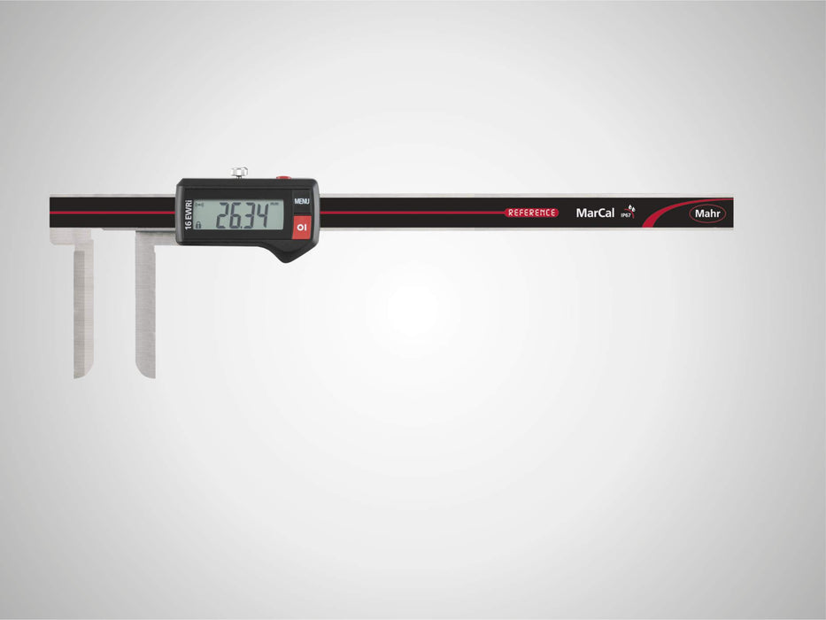 "Mahr - MarCal 16 EWR-LI Digital Caliper for Special Applications, 10-200mm/0.4-8"", IP 67, Data Interface"