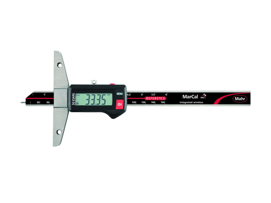 Mahr - MarCal 30 EWRi Digital Depth Gage - IP 67, Integrated Wireless