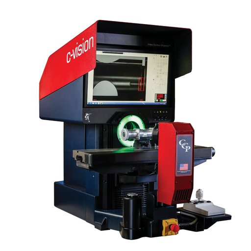 C-Vision Video Comparators are easy-to-use, digital measuring devices. The C-Vision is the ultimate shop floor video measuring system. Its rugged design and 60 lb load capacity put advanced automatic video measurement capability to work  right where you need it.