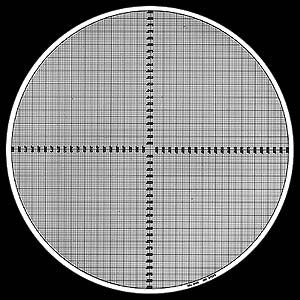 Grid Chart - No.2 - Optical Comparator Chart