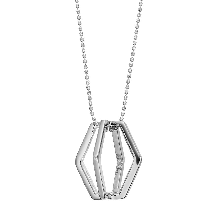 Force - Long Pendant : Silver