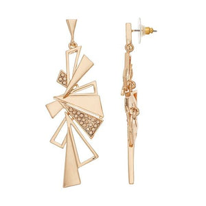 Bold - Statement Earrings : Gold