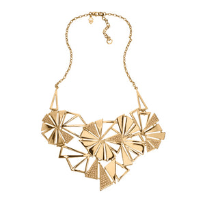 Bold - Statement Necklace : Gold