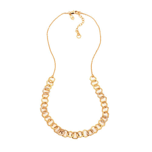 Force - Chain Link Necklace : Gold