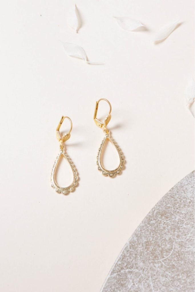 boucles d'oreilles made in france Lisou