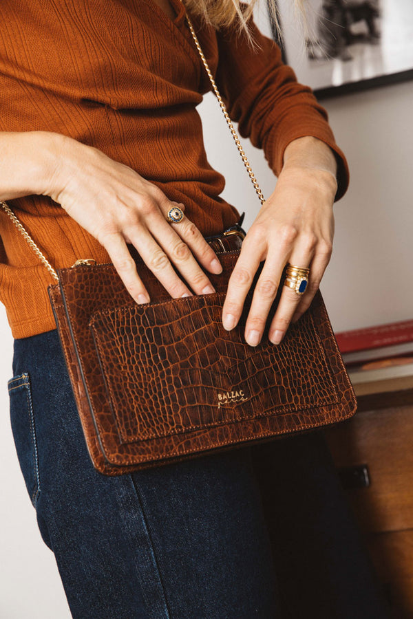 embossed-cognac-davani-bag
