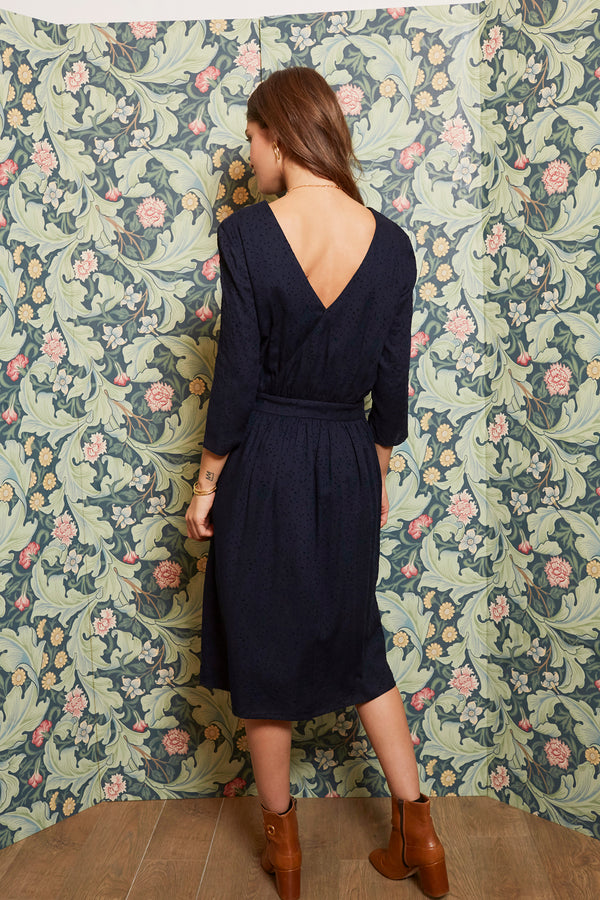 robe-colette-marine-a-pois