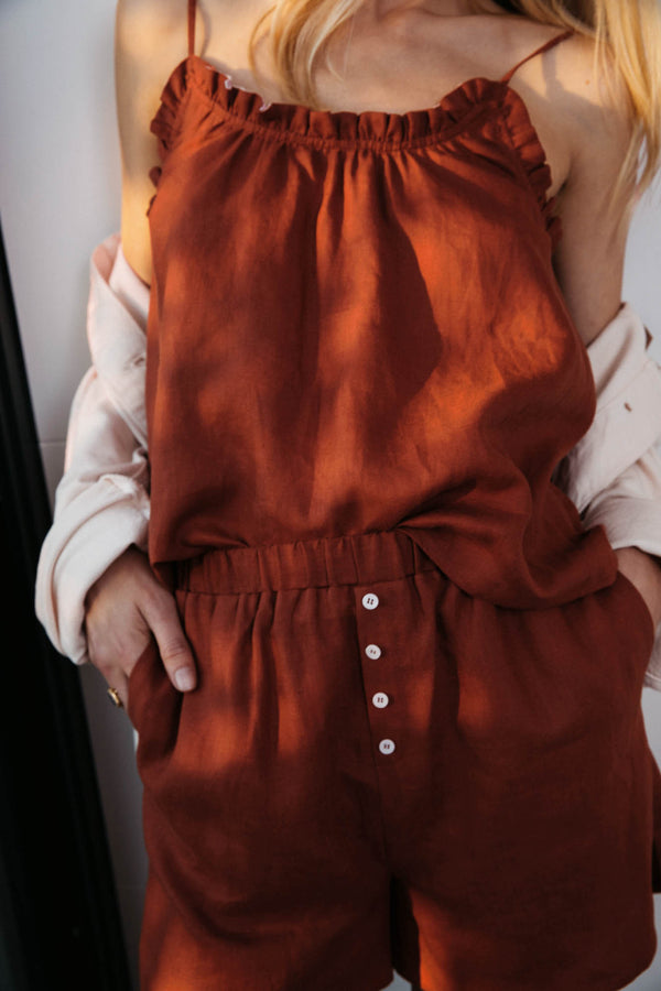 songe-terracotta-camisole-in-linen