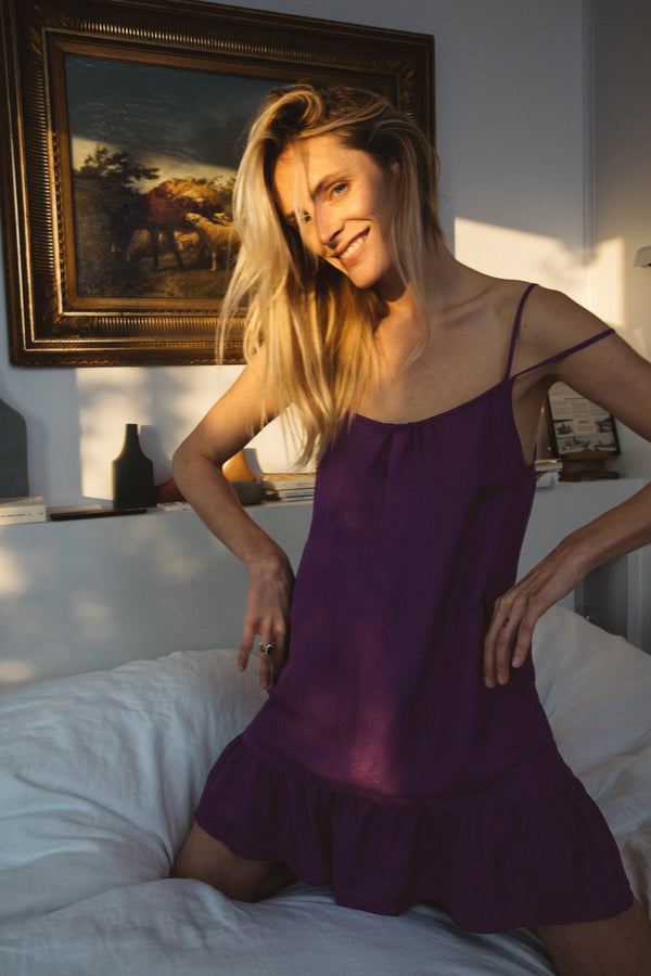 sablier-purple-nightie