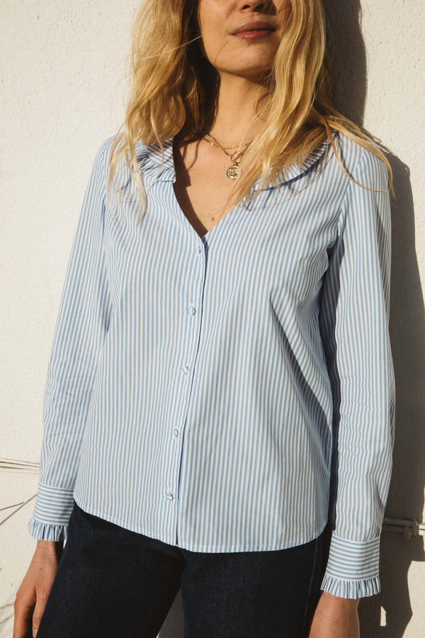 chemise-lysie-a-rayures-bleues