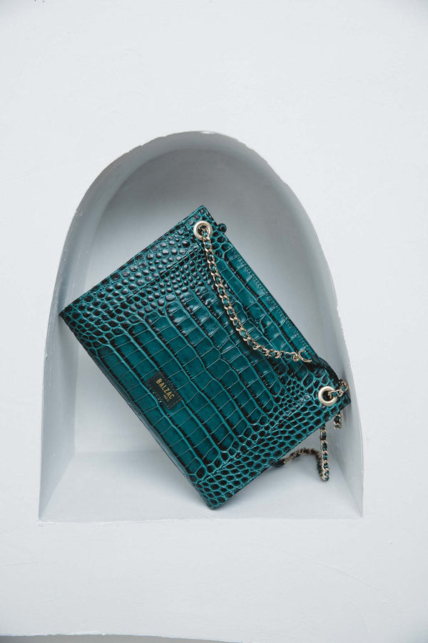 embossed-green-rodin-bag