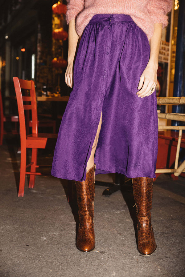 sally-purple-jacquard-skirt