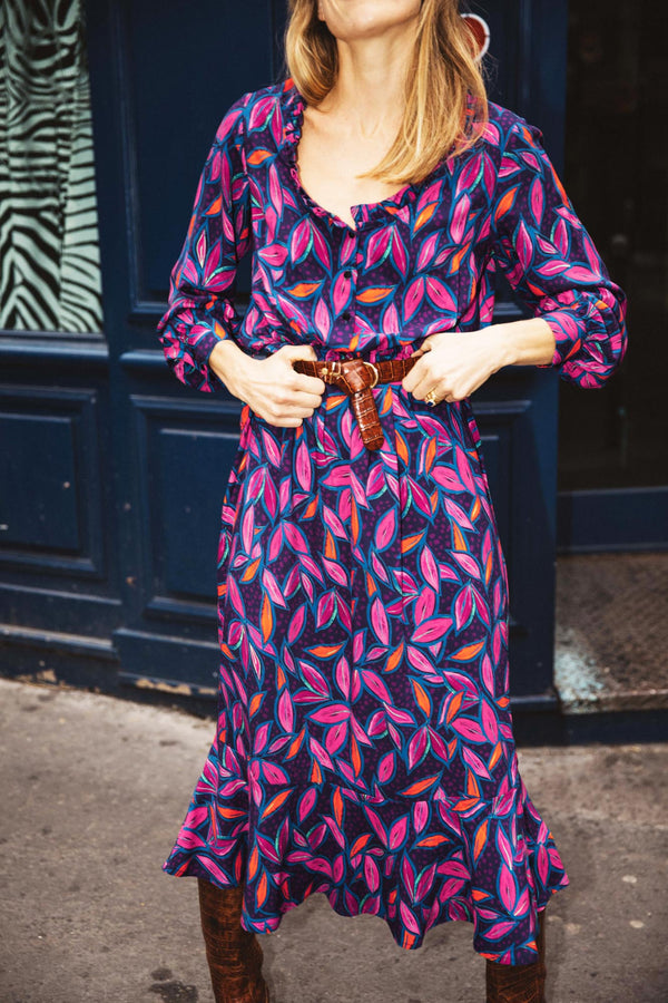robe-charlotte-imprime-feuilles